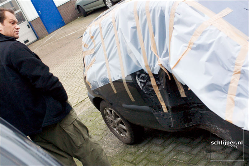 Nederland, Alkmaar, 12 februari 2004