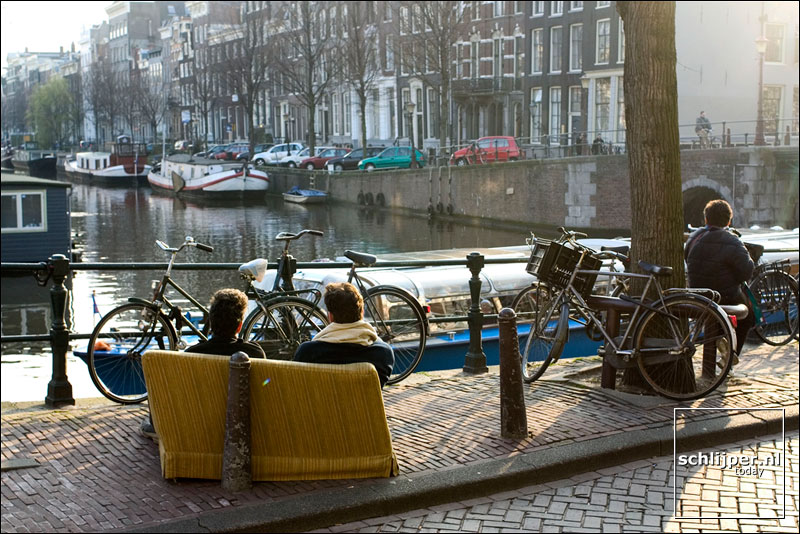 Nederland, Amsterdam, 29 maart 2004
