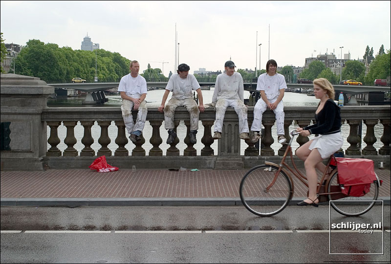 Nederland, Amsterdam, 18 mei 2004