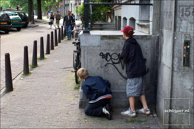 Nederland, Amsterdam, 30 juni 2004