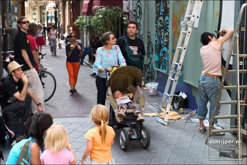 Nederland, Amsterdam, 27 juli 2004