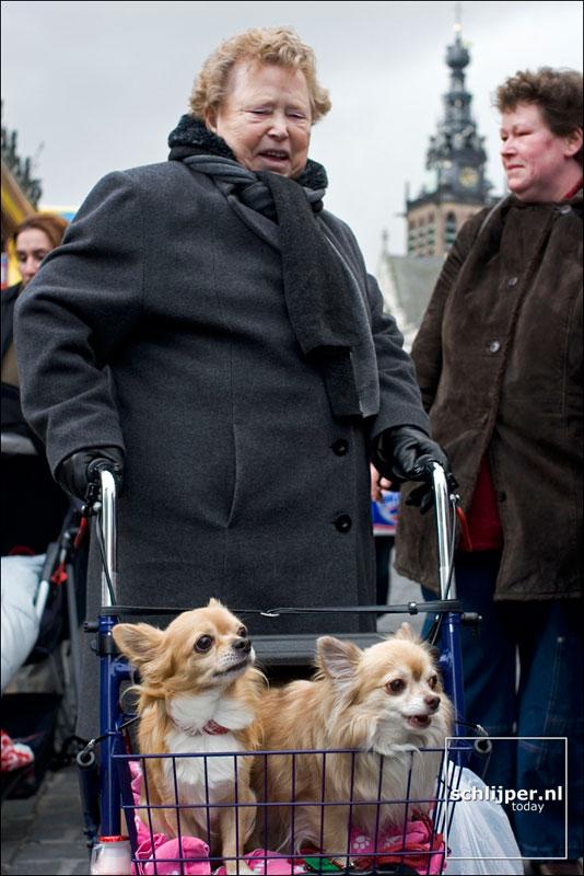Nederland, Nijmegen, 22 januari 2005