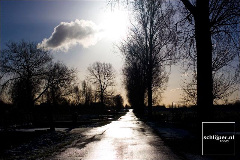 Nederland, Ouderkerk aan de Amstel, 24 januari 2005
