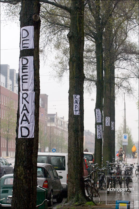 Nederland, Amsterdam, 19 april 2005