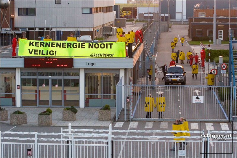 Nederland, Borssele, 18 mei 2005