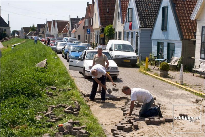 Nederland, Durgerdam, 20 juni 2005