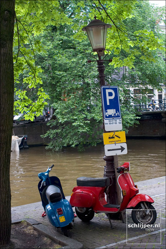 Nederland, Amsterdam, 5 juli 2005