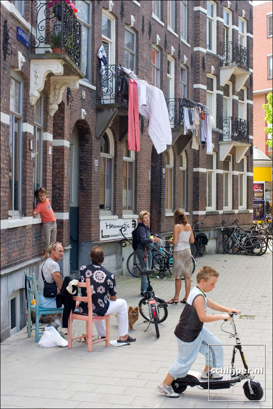 Nederland, Amsterdam, 17 juli 2005