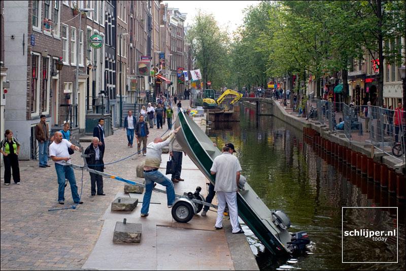 Nederland, Amsterdam, 16 augustus 2005