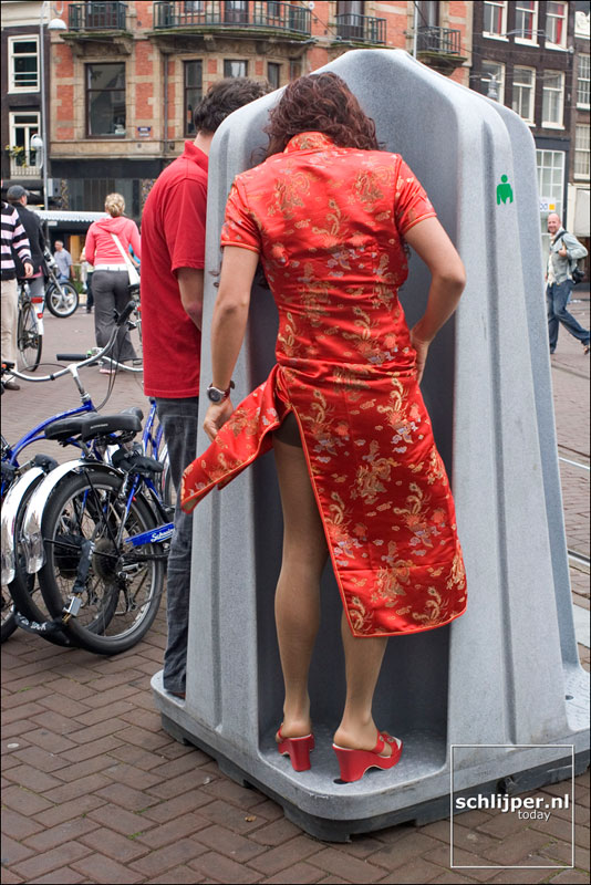 Nederland, Amsterdam, 20 augustus 2005