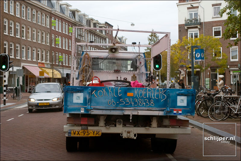 Nederland, Amsterdam, 28 oktober 2005