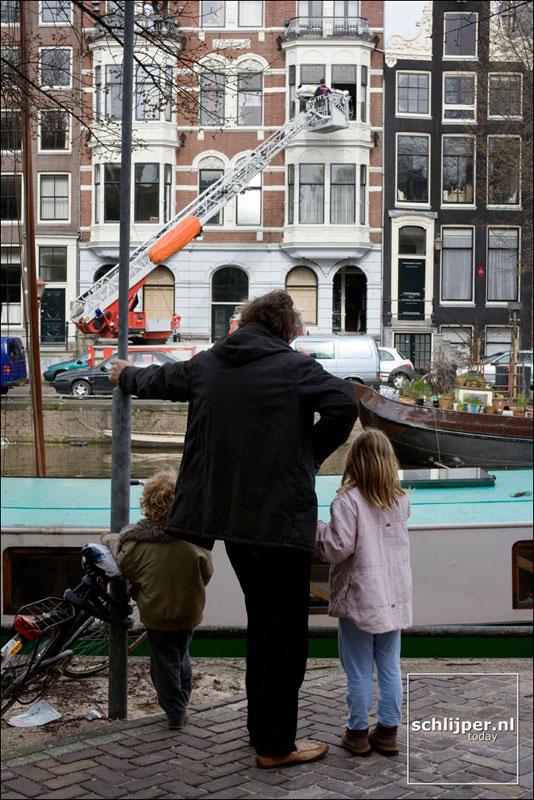 Nederland, Amsterdam, 15 april 2006