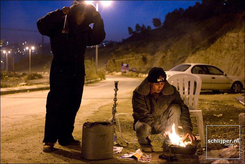 Israël, Har Choma settlement, 22 januari 2007