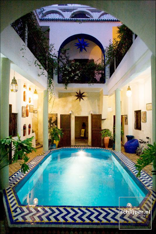 Marokko, Marrakech, 2 december 2007