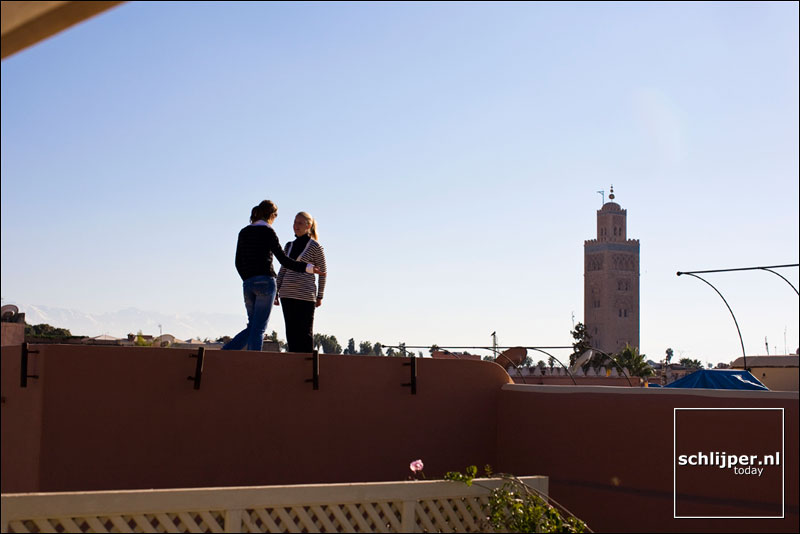 Marokko, Marrakech, 4 december 2007