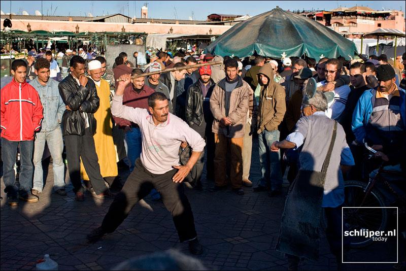 Marokko, Marrakech, 6 december 2007