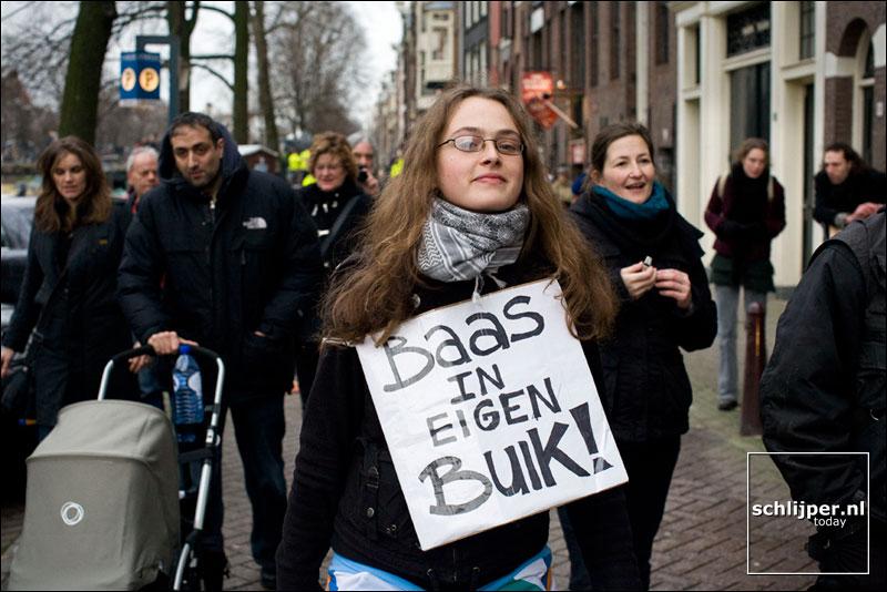 Nederland, Amsterdam, 8 december 2007