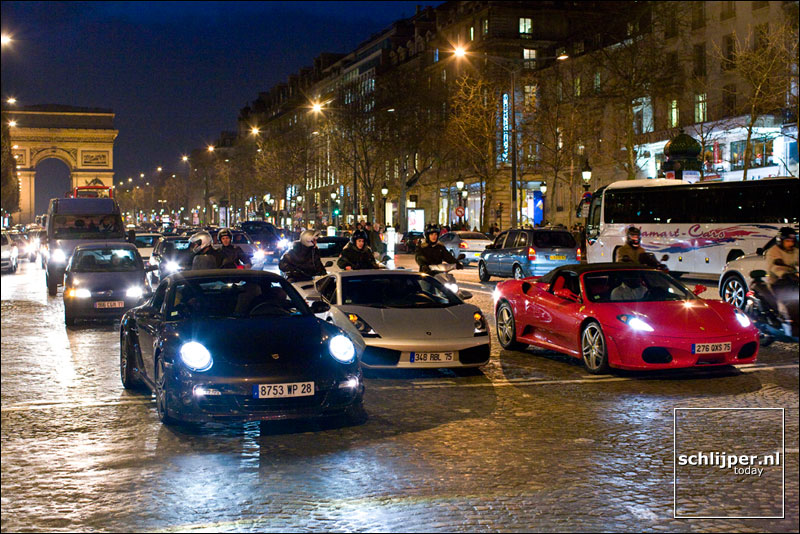 Frankrijk, Parijs, 15 februari 2008