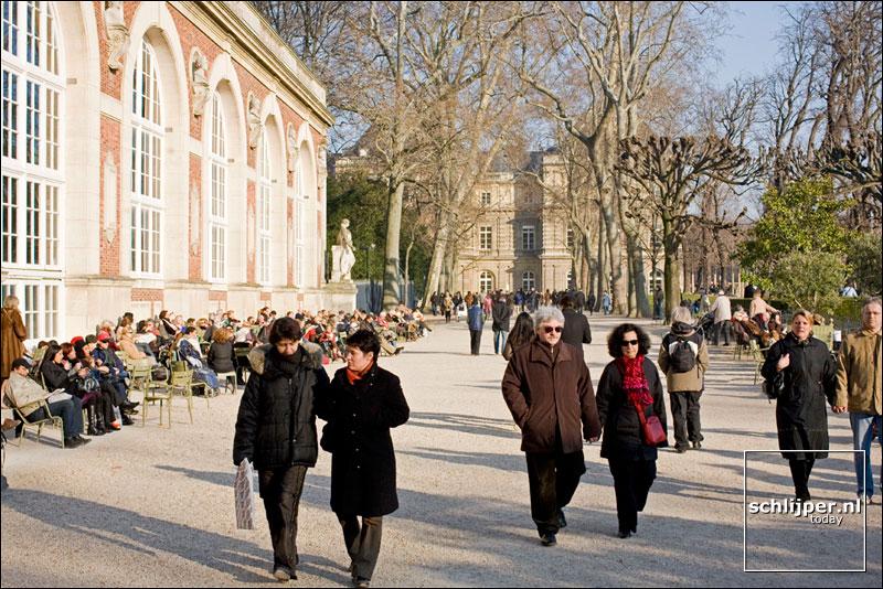 Frankrijk, Parijs, 17 februari 2008