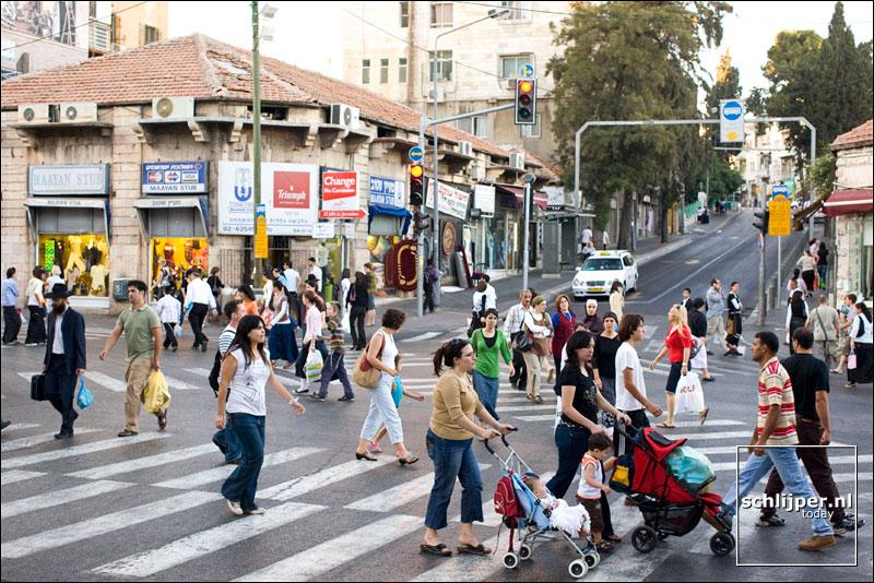 Israel, Jeruzalem, 16 juni 2008