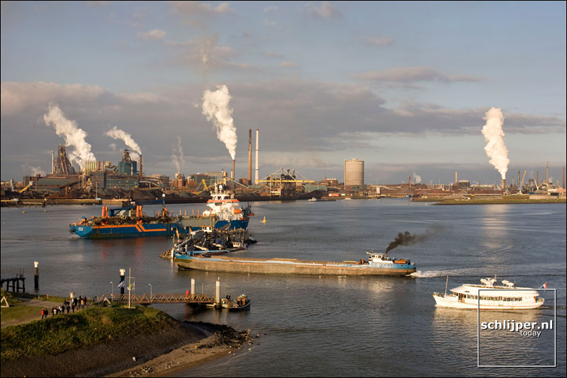 Nederland, IJmuiden, 6 oktober 2008