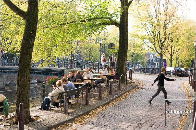 Nederland, Amsterdam, 13 oktober 2008