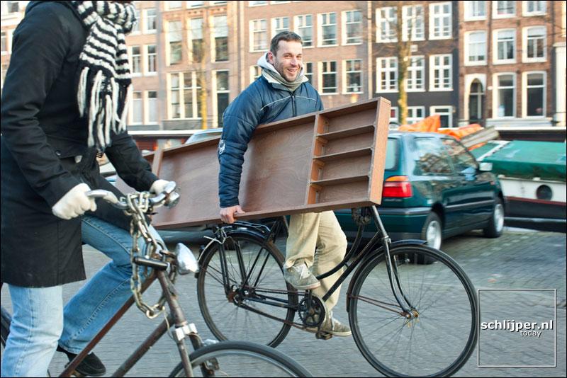 Nederland, Amsterdam, 29 december 2008