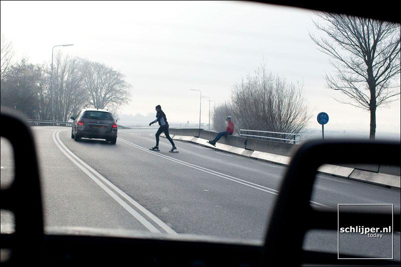 Nederland, Monnickendam, 8 januari 2009