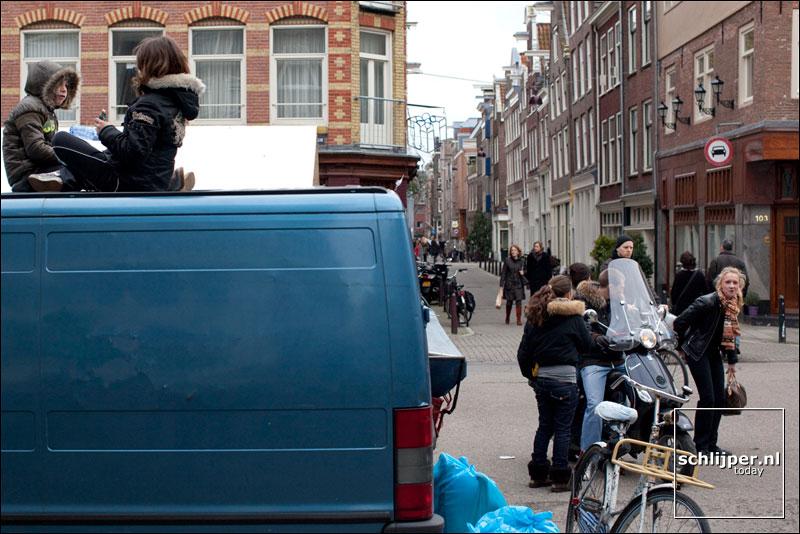 Nederland, Amsterdam, 28 februari 2009