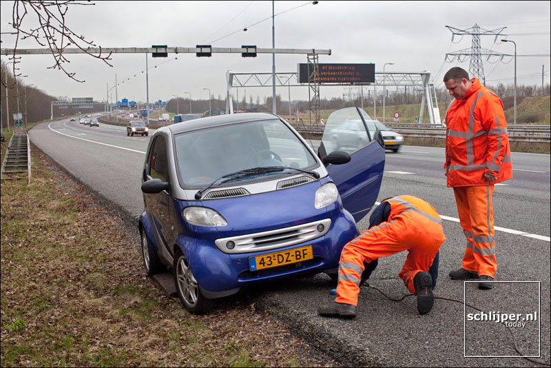 Nederland, Almere, 12 maart 2009