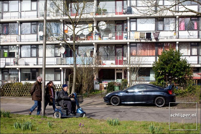 Nederland, Delft, 16 maart 2009