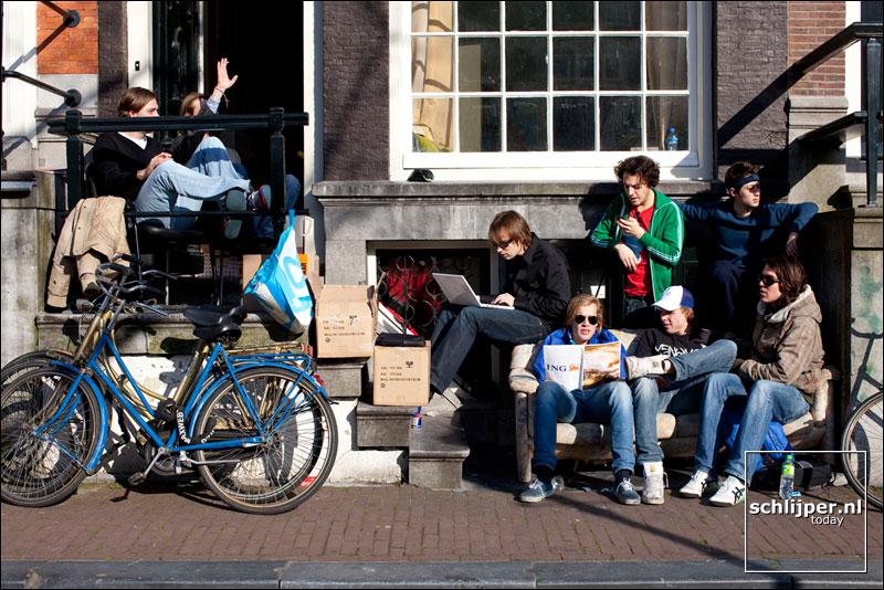Nederland, Amsterdam, 30 maart 2009