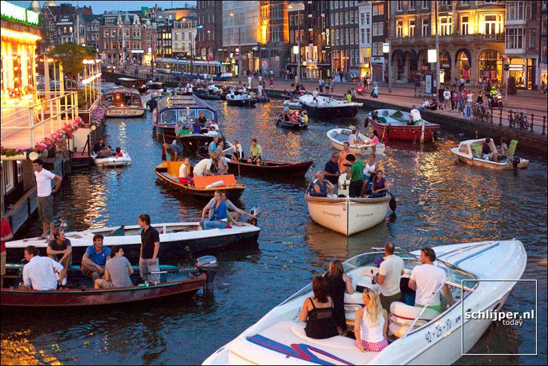 Nederland, Amsterdam, 6 augustus 2009