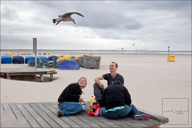 Nederland, Velsen, 27 augustus 2009