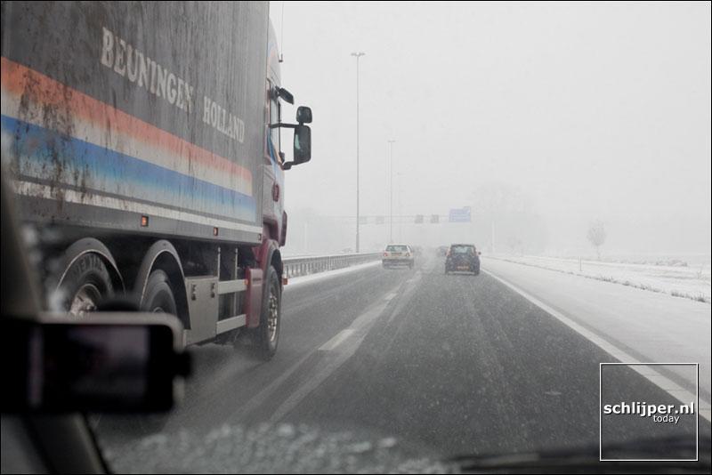 Nederland, Boxtel, 17 december 2009