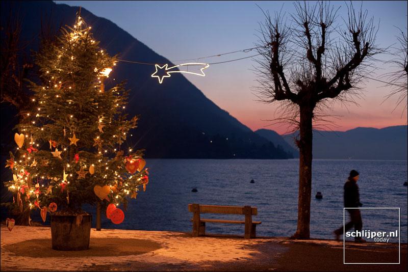 Italië, Caldè, 20 december 2009