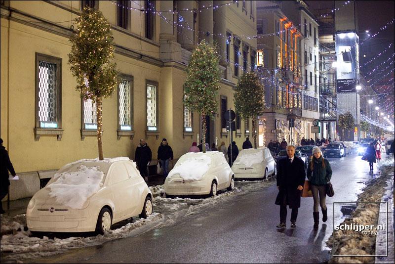 Italië, Milaan, 23 december 2009
