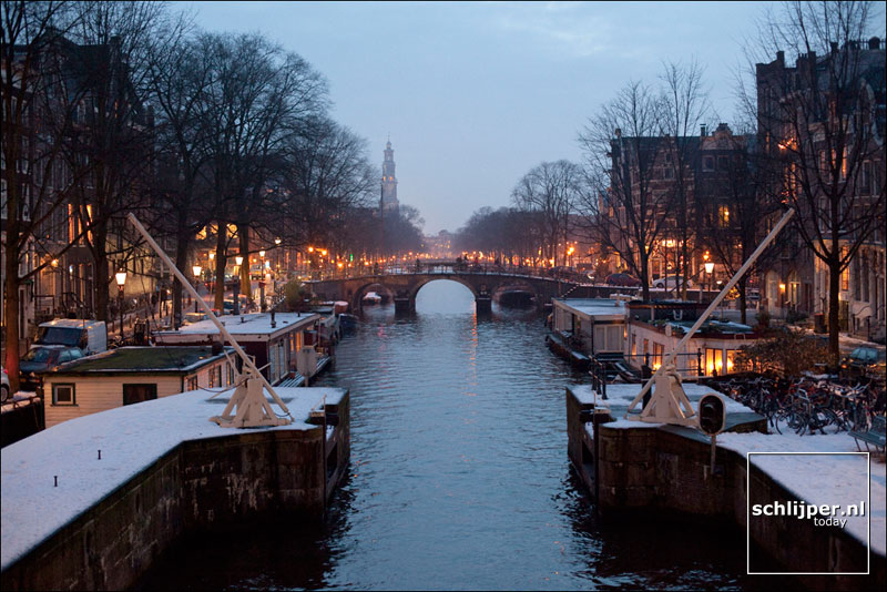 Nederland, Amsterdam, 24 december 2009