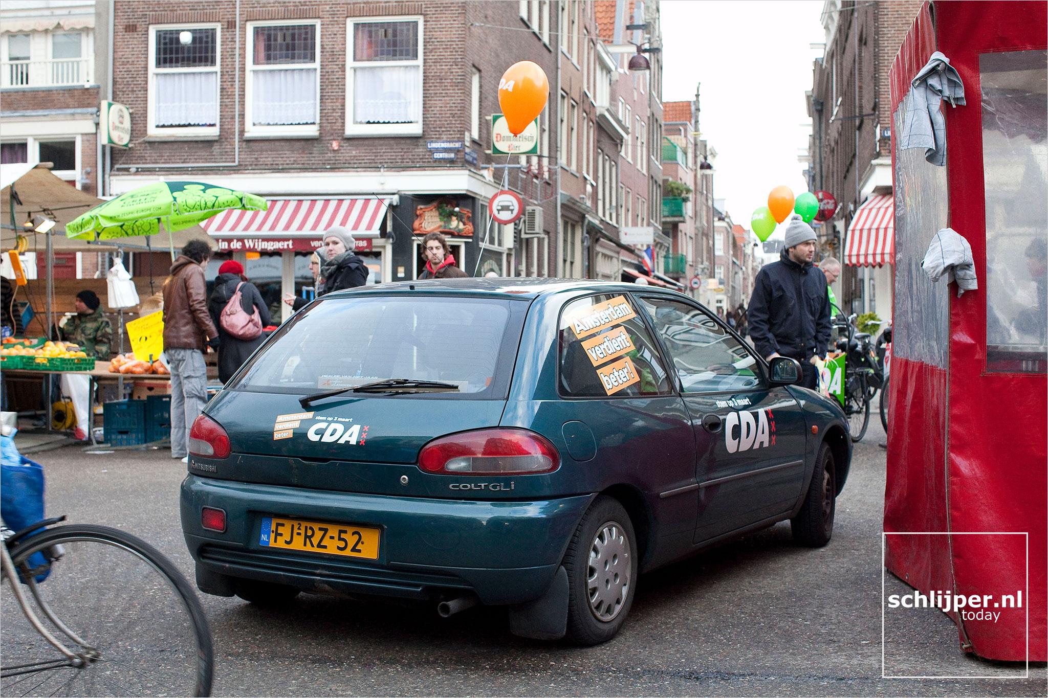 Nederland, Amsterdam, 20 februari 2010