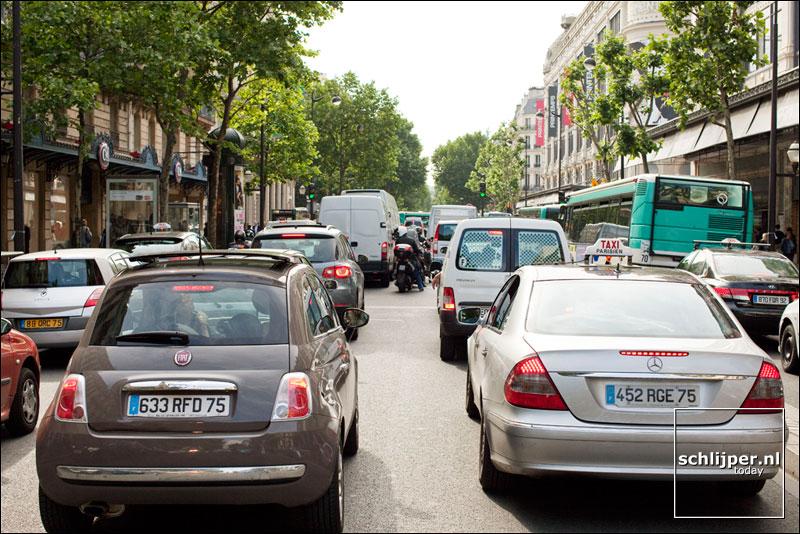 Frankrijk, Parijs, 14 juni 2010