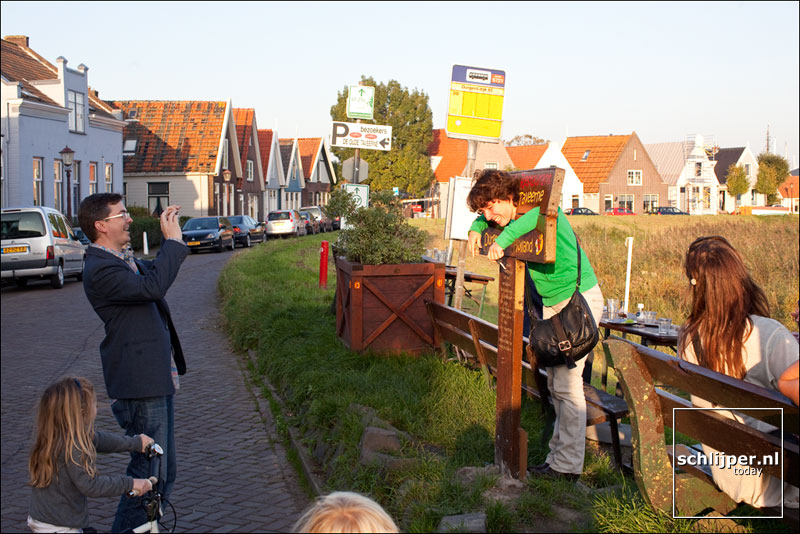 Nederland, Durgerdam, 9 oktober 2010
