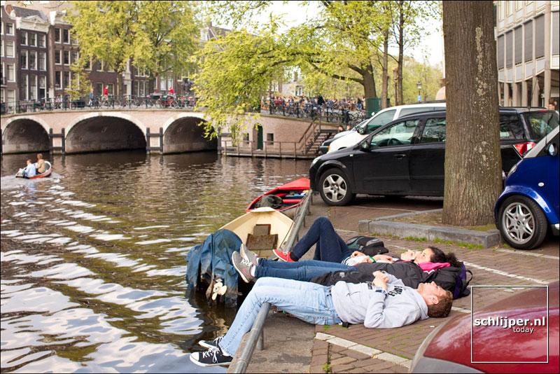 Nederland, Amsterdam, 15 april 2011