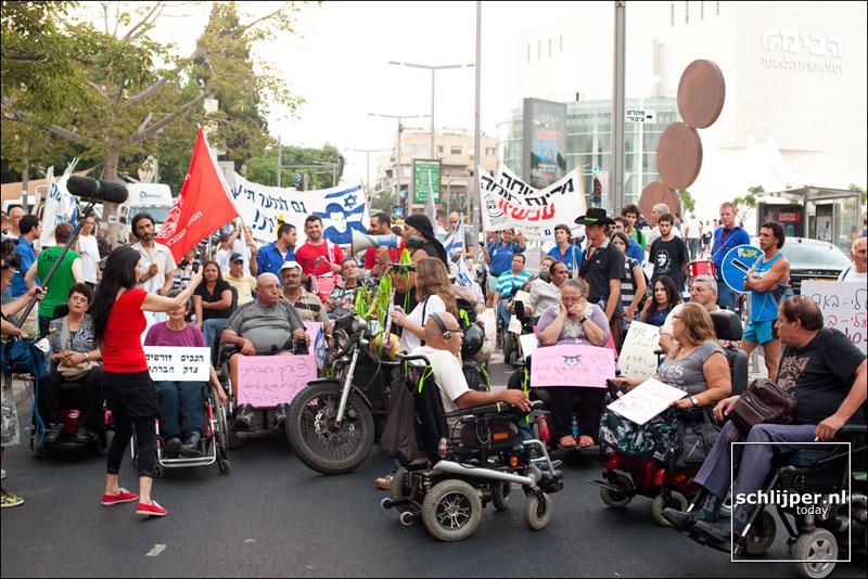 Israel, Tel Aviv, 9 augustus 2011