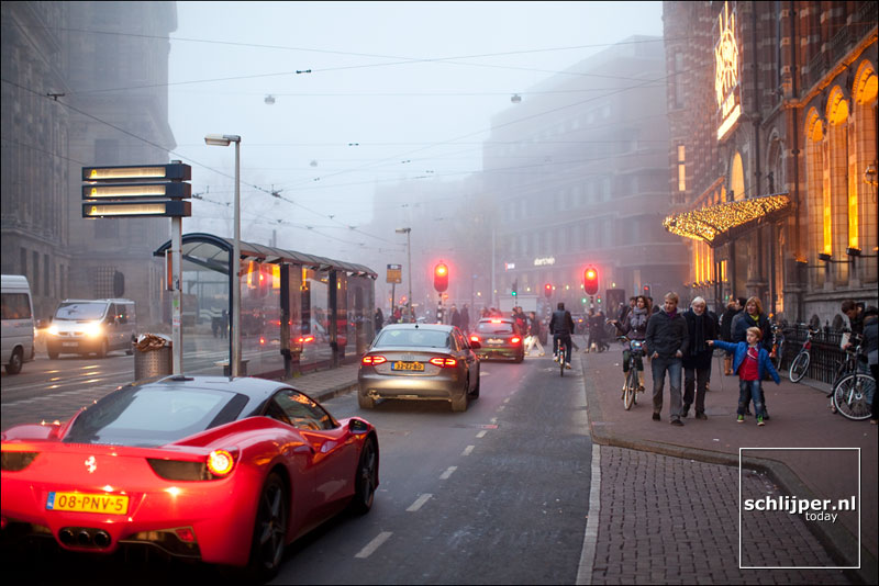 Nederland, Amsterdam, 20 november 2011