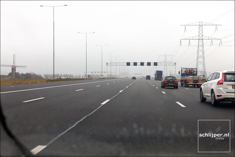 Nederland, Nieuwersluis, 23 december 2011