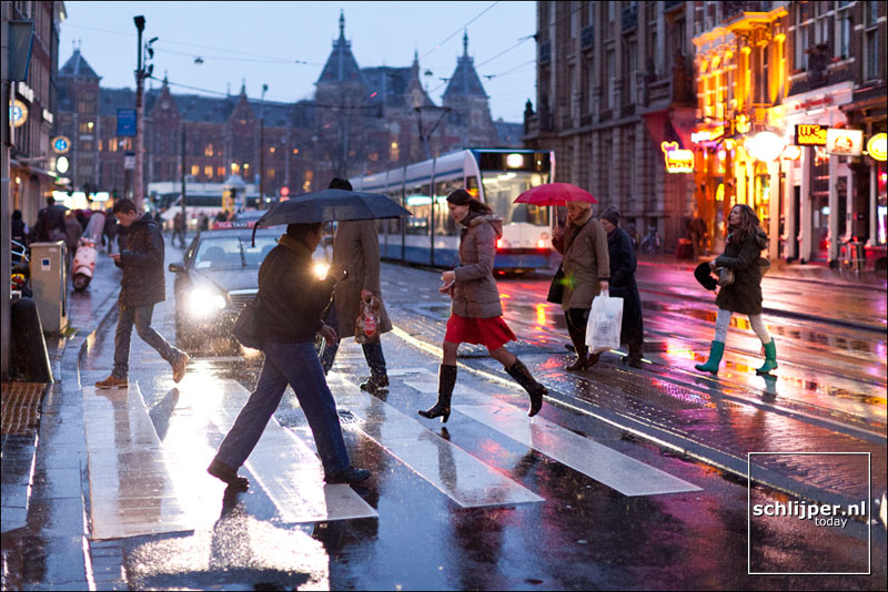 Nederland, Amsterdam, 26 januari 2012