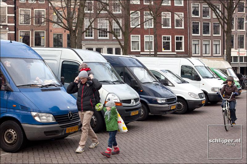 Nederland, Amsterdam, 28 januari 2012