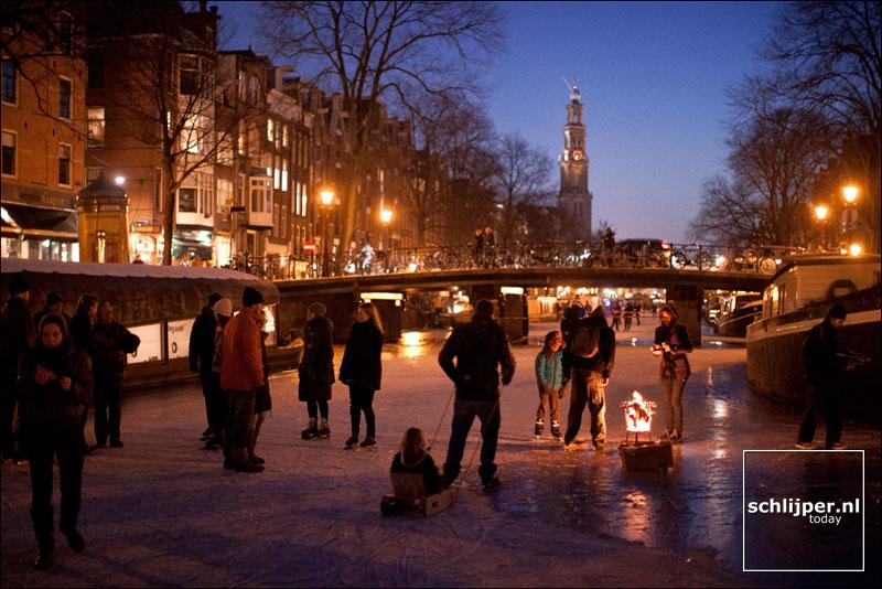 Nederland, Amsterdam, 8 februari 2012