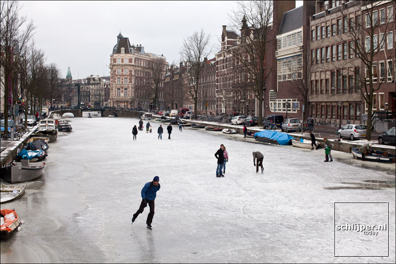 Nederland, Amsterdam, 9 februari 2012