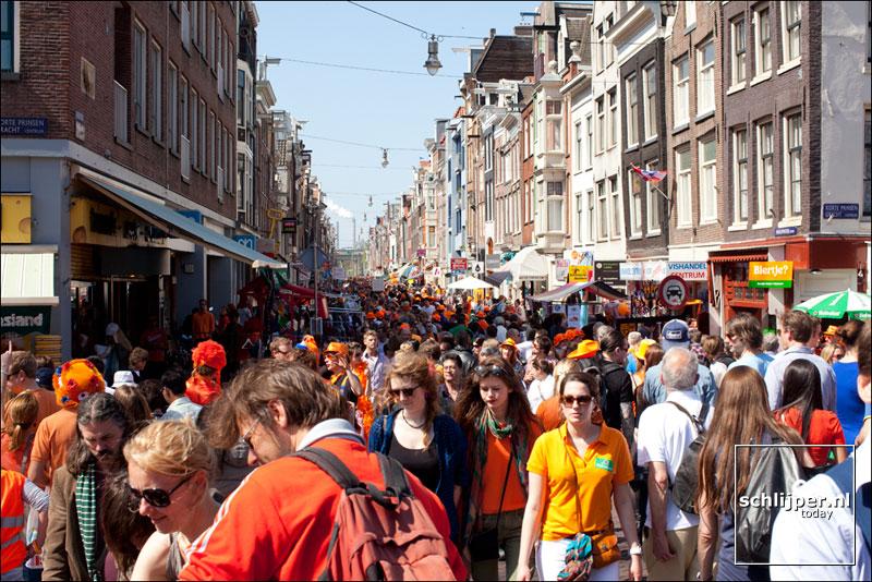 Nederland, Amsterdam, 29 april 2012